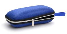 Hộp kính dây kéo chữ nhật [ tặng khăn lau ]
