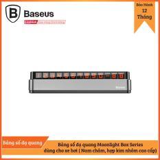 Bảng số dạ quang Moonlight Box Series Temporary Parking Number Plate dùng cho xe hơi ( Nam châm, hợp kim nhôm cao cấp)