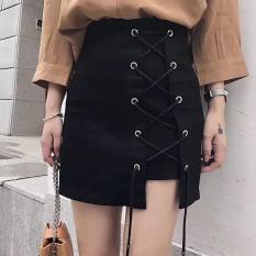 Chân váy ulzzang đan dây cực hot