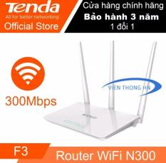 Bộ phát sóng Wifi Tenda F3 – model wifi Tenda F3 NEW