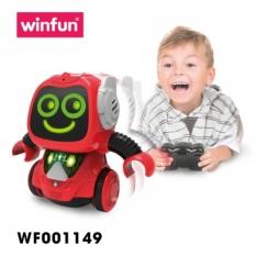 Robot thu âm giọng nói , biết nhảy và điều khiển từ xa Winfun 1149 – Tiêu chuẩn Châu Âu