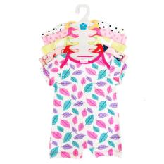 Set 5 áo liền quần dành cho bé gái BABY WEAR sơ sinh đến 12 tháng ( Màu ngẫu nhiên )
