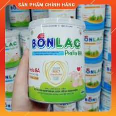 BONLAC – PEDIA BA (Trẻ từ 6 tháng – 6 tuổi) Dinh dưỡng cho trẻ biếng ăn, chậm lớn