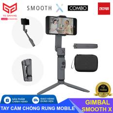 [ MÀU XÁM ] Zhiyun Smooth X | Tay cầm chống rung cho điện thoại, Gimbal Chống Rung Zhiyun Smooth X – Hãng phân phối chính thức