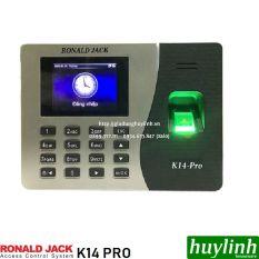 [HCM]Máy chấm công vân tay Ronald Jack K14 Pro + Thẻ cảm ứng