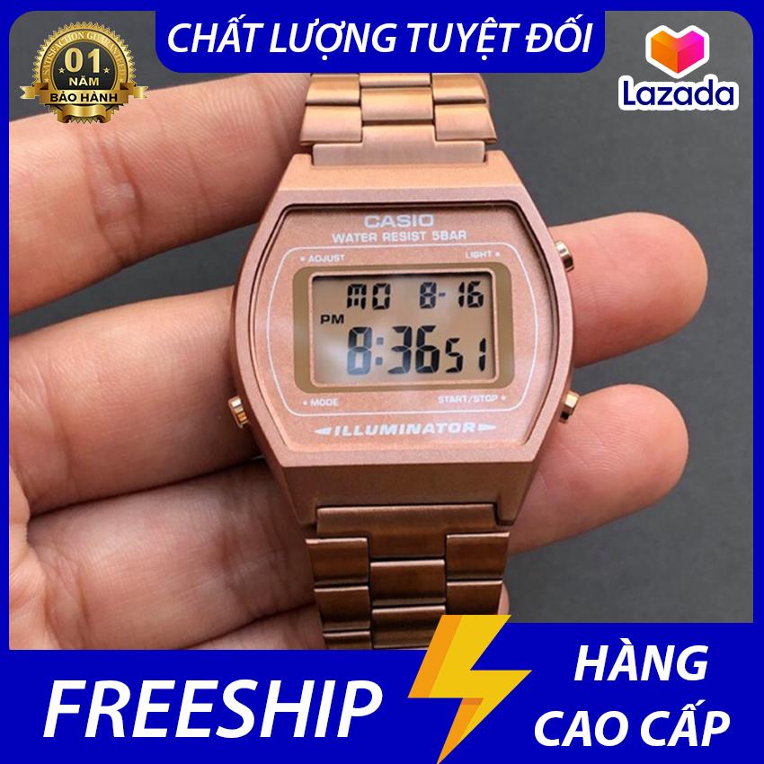 [Full Box] Đồng Hồ Casio Rose Gold Mạ Vàng Hồng Giá Tốt