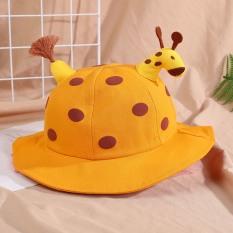Mũ vành hình Hươu 3D có dây quai cho bé 0-2 tuổi