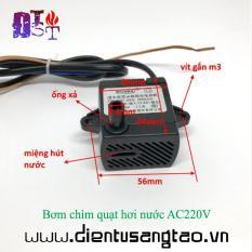Bơm chìm quạt hơi nước AC220V