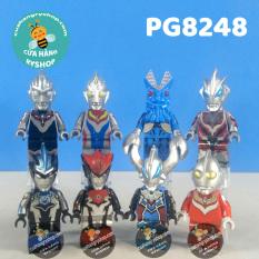 Non Lego Set 8 Siêu nhân điện quang – Ultraman – PG8248