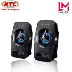 Loa vi tính Kisonli L-3030 có đèn led – bass mạnh (Đen) – Nhat Tin Authorised Store