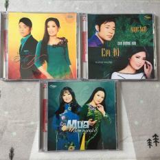 Combo 3 CD Trung Tâm ca nhạc Thúy Nga