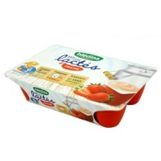Sữa chua Bledina mini vị dâu vỉ 6 trẻ từ 6m-36m date T9.2020