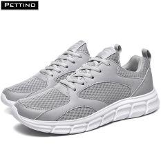 Giày thể thao nam, giày chạy bộ, giày sneaker siêu nhẹ, thoáng khí chống hôi chân hiệu quả, thời trang tinh tế PETTINO – LLSD01