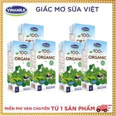 Bộ 6 hộp Sữa tươi Vinamilk 100% Organic 1L