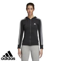 adidas Áo khoác thể thao nữ ESS 3S FZH SL Essentials 3-Stripes Hoodie S97065