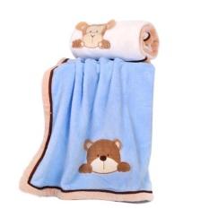 Bộ 02 chăn hình gấu thỏ cho bé, sản phẩm cam kết như hình, sản phẩm tốt chất lượng và độ bền cao