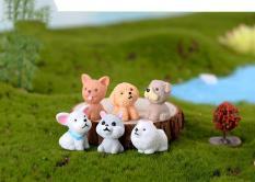 Chó con xinh xắn – trang trí tiểu cảnh terrarium.Quà tặng ý nghĩa cho người thân bạn bè. Quà tặng ý nghĩa cho người thân bạn bè