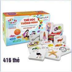 Bộ Thẻ Học Thông Minh 16 Chủ Đề (416 Thẻ) Phát Triển Kĩ Năng IQ Cho Bé – Bộ Thẻ Học Song Ngữ Thông Minh – thẻ học thông minh flashcards – đồ chơi – đồ chơi giáo dục – thẻ học thông minh – đồ chơi giáo dục – đọc & viết – chữ cái & từ vựng nam châm