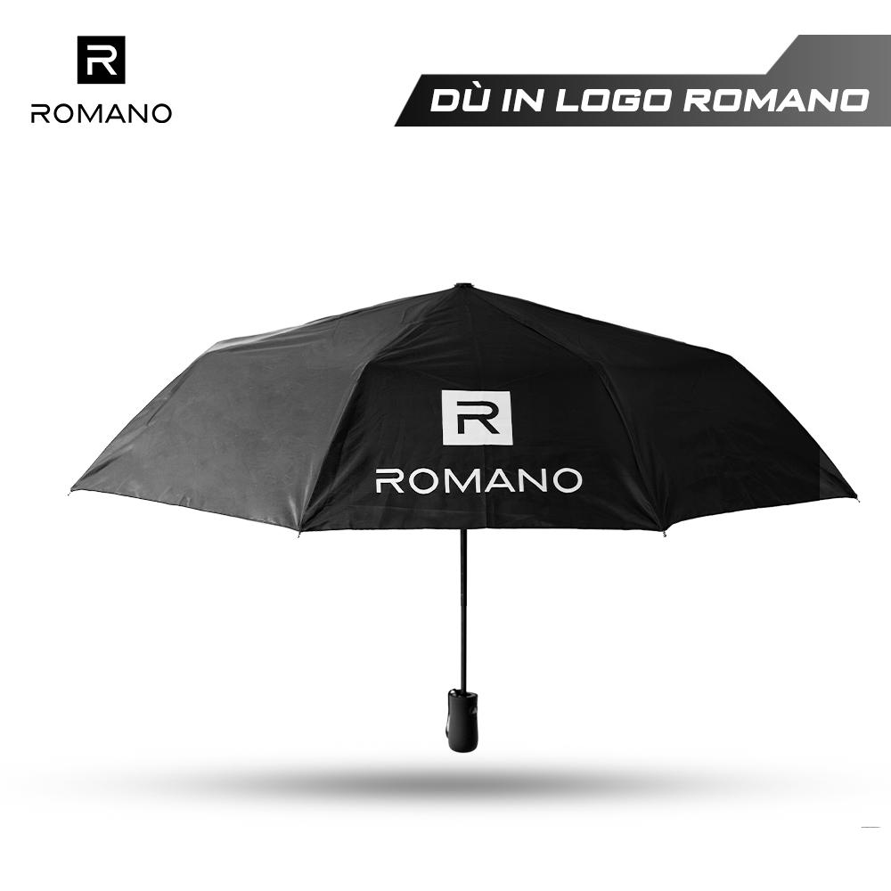 [HÀNG TẶNG KHÔNG BÁN] Ô dù tự động in logo Romano