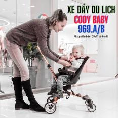[Lấy mã giảm thêm 30%]Xe đẩy du lịch Cody Baby 969