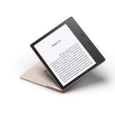 Máy đọc sách Kindle Oasis 3 – năm 2019 (All-new Kindle Oasis – with adjustable warm light) – Màn hình 7 inch chống chói lóa thân thiện với mắt, thiết kế gọn nhẹ chỉ 188g – Bảo hành 12 tháng