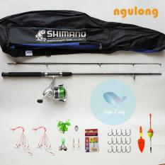 Bộ Cần Shimano Máy 4000 Có Balo và phụ kiện đi kèm cỡ từ 1,65m đến 2,7m ( Đồ câu ngư long )