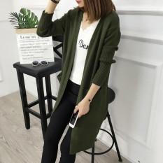 Áo len nữ dáng dài A0090, Áo len cadigan dáng dài Hàn Quốc