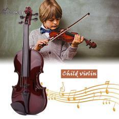 Mingrui ABS Black 48CM Studnets Acoustic Violin Kids Violin Children'S Violin