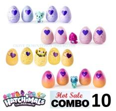 COMBO 10 Trứng Hatchimals nhiều season khác nhau – Đồ chơi VNXK
