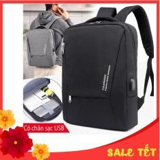 Balo laptop 15.6 inch chống sốc, có khe cắm sạc FULARUISHI
