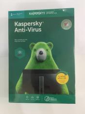Phần mềm diệt virus Kaspersky Anti virus 1PC (Xanh)