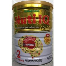 Sữa Bột Nuti IQ Gold Step 2 900g (trẻ 6-12 tháng) – HSD luôn mới