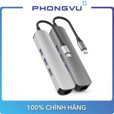 Bộ chia/ Hub HyperDrive 4K HDMI 6-in-1 USB-C Hub-HD233B