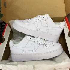 Giày Thể Thao Sneaker Nam Nữ AF1 ALL White