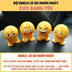 Thú nhún Emoji lò xo (mẫu ngẫu nhiên)