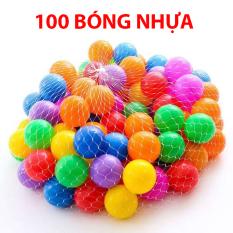 100 quả bóng nhựa dành cho quay bóng, nhà bóng, lều chơi cho bé