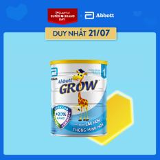 Sữa Bột Abbott Grow 1 900g cho bé từ 0 – 6 tháng tuổi cung cấp 26 dưỡng chất dễ tiêu hóa và hấp thụ tốt giúp bé tăng cân
