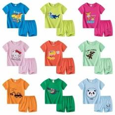Combo 3 bộ quần áo trẻ em 7- 15kg. Bộ coton mùa hè cho bé, nhiều màu