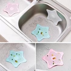 Lọc rác bồn rửa chén bát silicon hình ngôi sao xinh xắn tiện lợi cho gia đình
