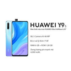 Điện thoại Huawei Y9S Ram 6GB, bộ nhớ trong 128GB, thiết kế tràn viền, hệ thống camera AI với góc chụp siêu rộng 120° với hệ điều hành Android 9, chip Kirin 710F [Hàng Chính Hãng]