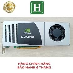 Card màn hình NVIDIA QUADRO FX 4800 1,5Gb 384-bit GDDR3, hàng tháo máy chính hãng, bảo hành 6 tháng