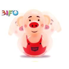 Đồ chơi lật đật mini heo Piggy tumbler đáng yêu vừa chơi vừa trang trí