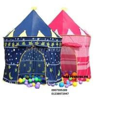 Lều chơi lâu đài hoàng tử cho bé trai và lều công chúa cho bé gái.