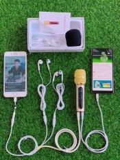 Mic c11 nâng cấp cải tiến thế hệ mới nhất 2020 dây livestream dài 2 mét, tặng thêm tai nghe để hát song ca- bảo hành 12 tháng đổi mới