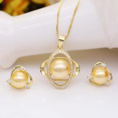 Bộ Trang Sức Ngọc Trai Mạ Vàng 18k – Bộ Trang Sức Nữ Cao Cấp BV-4506 Bảo Ngọc Jewelry
