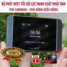 Phát Wifi Pocket 304HW Tiêu Chuẩn Châu Âu từ Sim 3G/4G Tốc Độ Siêu Nhanh