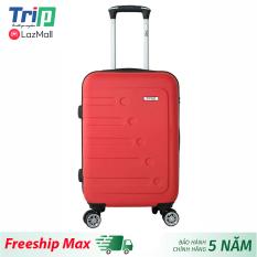 [Hỗ trợ phí Ship] Vali nhựa TRIP P16 Size 24inch/ Vali ký gửi, đựng 20kg hành lý