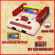 Máy Chơi Game 4 Nút 8-Bit C-37, Tay Cầm không dây, cổng HDMI 4K, Tặng kèm băng 500 game