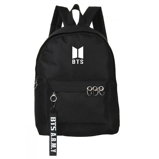 [Hàng có sẵn] Balo đi học in logo BTS giá học sinh