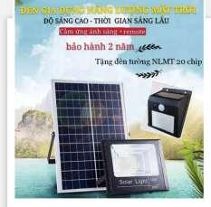 「MUA 1 TẶNG 1」Đèn LED năng lượng mặt trời 30w-60W-100W-200W-Bảo hành 12 tháng-IP67- TẶNG ĐÈN TƯỜNG NLMT 20 CHIP